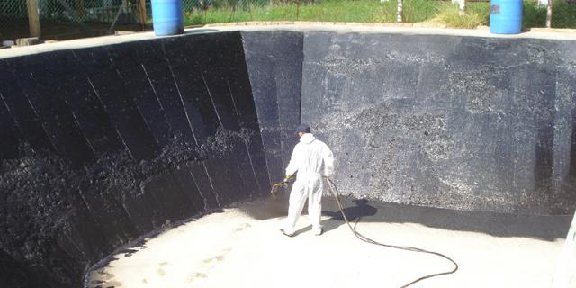 гидроизоляция водоёма